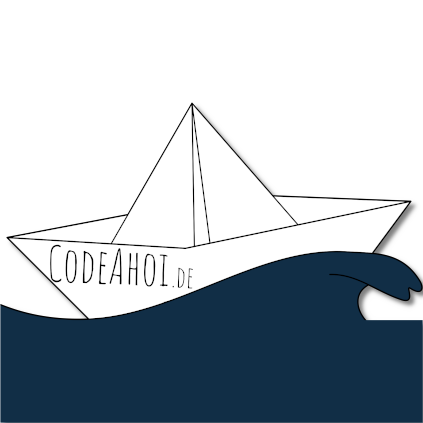 Current logo of CODE AHOI